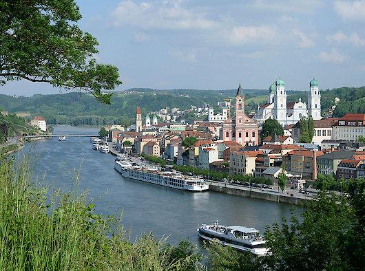 Dreiflüssestadt Passau Bayerischer Wald